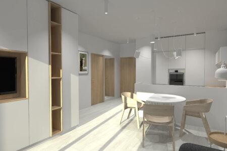 Projekt Wnętrza – Mieszkanie w Lublinie