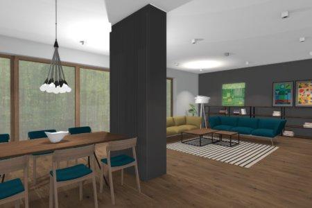 Projekt Wnętrza – Dom pod Lublinem #3