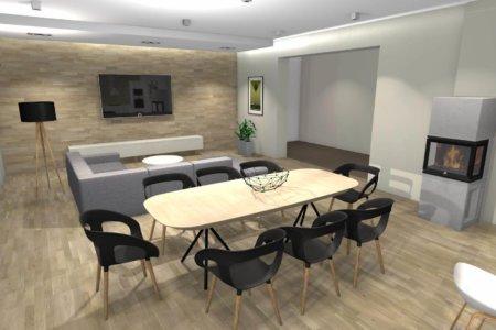 Projekt Wnętrza – Dom Pod Łukowem