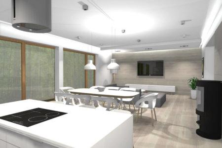 Projekt Wnętrza – Dom w Łukowie