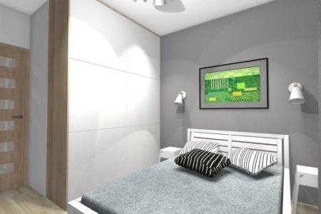 Projekt Wnętrza – Mieszkanie w Lublinie #1