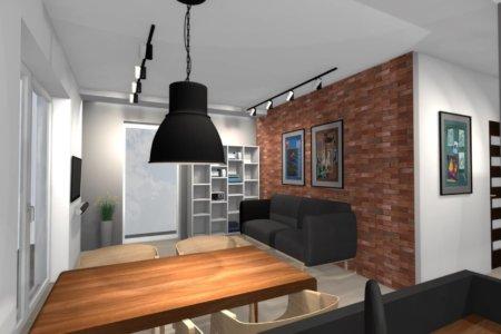 Projekt Wnętrza – Mieszkanie w Lublinie #2