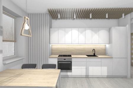 Projekt Wnętrza- Mieszkanie w Lublinie