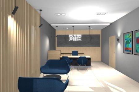 Projekt Wnętrza – Sekretariat