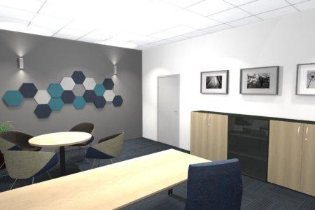Projekt Wnętrza – Serwis MAN w Sulechowie